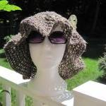 Crochet Summer Hat - mixtur..