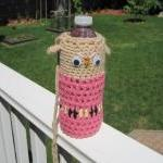 Crochet Owl Water Bottle Co..