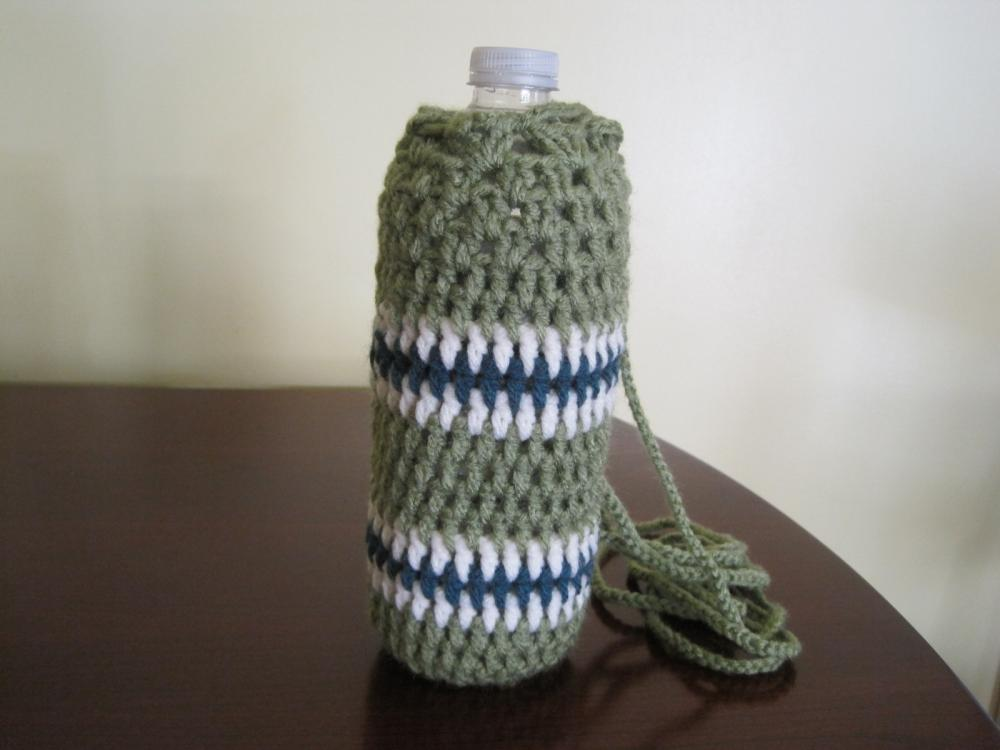 Crochet Water Bottle Cozy - CMBC2